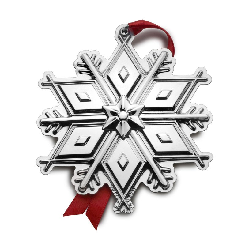 Tuttle 2017 Tuttle Snowflake Ornament - 3rd Edition